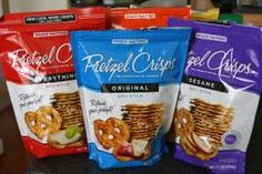 I love these pretzel chips.  They are a great snack and go with tons of dips.