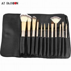 12 pcs Makeup Brush Set Professional Soft Synthetic Cosmetic MakeupBrush Foundation Eyeshadow Eyeliner Brushing Brushes Kits