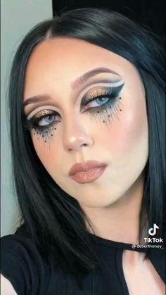 Pink Lipstick Makeup, Goth Eye Makeup, Mauve Makeup, Exotic Makeup, Dope Makeup, Glam Makeup Look, Eye Makeup Steps, Eye Makeup Art, Skin Makeup