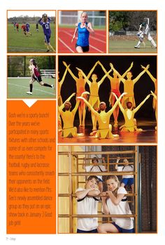 Use fill shapes to add text to your yearbook collages and include snippets or article text to recall specific events and trips.