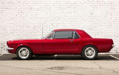 Auto's-Classic Cars-Ford Mustang