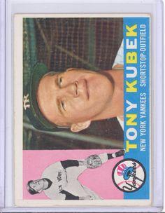 1960 Topps 83 Tony Kubek New York Yankees EX | eBay