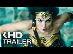 WONDER WOMAN NEW Spots & Trailer (2017) - YouTube