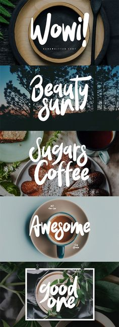 Free Wowi Brush Font - Fonts - Ideas of Fonts - Free Wowi is an authentic font. Wowi is perfectly suited to signature stationery logo typography quotes magazine or book cover website header clothing branding packaging design and more. via Creativetacos Typography Alphabet, Bold Typography, Design Typography, Typography Quotes, Typography Poster, Font Logo Design, Quote Design, Food Font, Logo Food