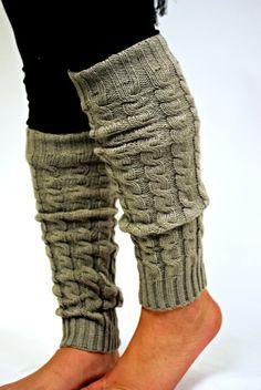 Leg Warmers - Gray $12.99 #southernfriedchics