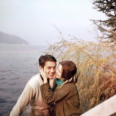 Dynamic Duo: Alain Delon & Romy Schneider - Photography, Landscape photography, Photography tips Romy Schneider, Alain Delon, Teen Couples, Cute Couples, Vintage Couples, Harry Meyen, The Love Club, Poster S, Old Love