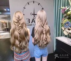Cute curly braided hair 3AM Hair Salon ( 成都店 Chengdu Branch) 锦江区 Jinjiang District, China