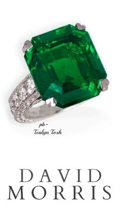 David Morris 16.36ct. Natural Colombian Emerald