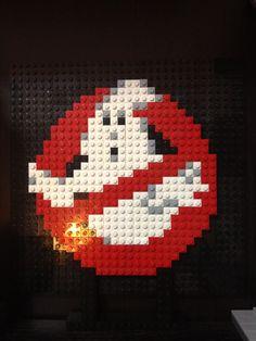 Custom Lego Ghostbusters Mosaic (32x32) by C3Brix!