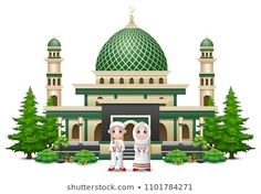 Find Islamic Mosque Building Green Plant stock images in HD and millions of other royalty-free stock photos, illustrations and vectors in the Shutterstock collection. Thousands of new, high-quality pictures added every day. Emoji, Hijab Cartoon, Coffee Sleeve, Portfolio, Green Plants, Islamic Art, Mosque, Designs To Draw, Vector Art