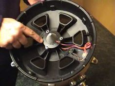 """DIY eDrum using Roland parts - can be used for Snare or Tom. This is based on a 12"""" Yamaha shell (chopped in half)."""
