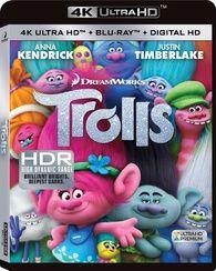 Trolls 4K (Blu-ray)