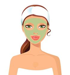 Take care of your skin using natural face packs with products that are already there in your kitchen Organic face packs are best for skin care Organic Face Products, Organic Skin Care, Natural Skin Care, Diy Skin Care, Skin Care Tips, Natural Face Pack, Skin Care Doctors, Beauty Skin, Health And Beauty