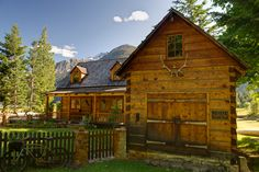 For Tracy. A cabin in Stehekin, Washington. Inaccessible by car. You have to take boat or floatplane to get there.