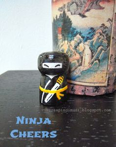 Vivere a piedi nudi living barefooted: My Ninja Cheers! Upcycling corks