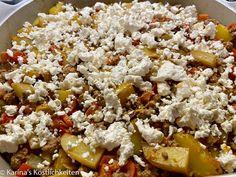 Spaghetti, Snack Recipes, Food And Drink, Low Carb, Menu, Hacks, Diy, Kuchen, Recipes With Feta