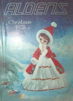 Vintage Aldens Christmas Catalog