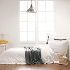 Linen from Home Republic- 600TC Cotton Bamboo Quilt Cover at Adairs  $150 for set Super King