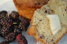 Don't know what to do with all the mulberries you have on hand? Mulberry-Apple Muffins are sure to please your family. Cantaloupe Recipes, Radish Recipes, Fruit Recipes, Muffin Recipes, Apple Recipes, Dessert Recipes, Desserts, Cake Recipes, Mulberry Recipes