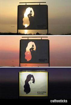 Sunset Signboard.