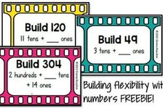 Flexibility with Place Value- FREEBIE!