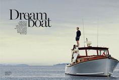 Dreamboat I Vogue Australia I January 2014 I Model: Hilary Rhoda I Photographer: Boo George I Editor: Tonne Goodman.