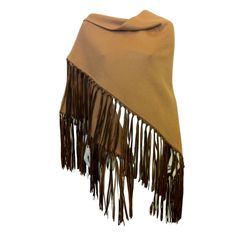 Hermes Brown Cashmere Shawl | From a collection of rare vintage scarves at http://www.1stdibs.com/fashion/accessories/scarves/