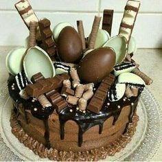 Bolos prefeito!! #chocolate #kinderovo #kinderbueno #cake