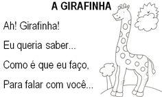 Texto A girafinha