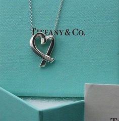 Discount Tiffany Large Paloma Picasso Loving Heart Pendant Necklace