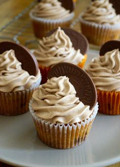 Terry's Chocolate Orange Cupcakes - new updated version on my blog!