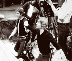 Never before seen candid pics from the set of original Star Wars   Moviepilot: New Stories for Upcoming Movies