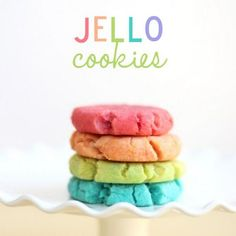 JELLO COOKIES!!!!!