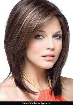 Medium Length Dark Brown Hair With Blonde Highlights Gnthpcb ... Ltf