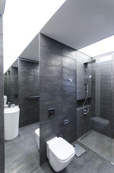 a9 copy White Staircase, Pent House, Ground Floor, Toilet, Bathrooms, Interior, Studio, Flush Toilet, Bathroom