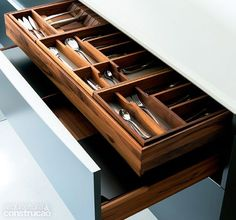 Pinterest Kitchen Drawer Organizers