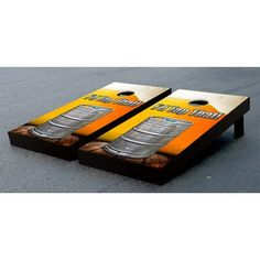 Victory Tailgate Beer Keg Tap That Themed Cornhole Game Set