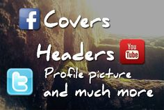 create Custom Facebook cover with a matching profile picture by sharozekashif