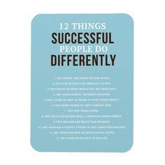 Magnet - Success & Inspirational Quote | Zazzle.com