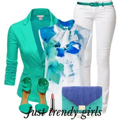"""block colors"" by pinkfashion2 on Polyvore"