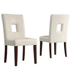 chairs (set of 2) $180