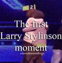 the first larry stylinson moment  I'm starting to be obsesst whit larry