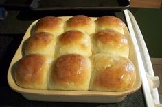 Amish Dinner Rolls ~ These dinner rolls literally melt in your mouth. The secret is the mashed potatoes, which add starch, but don't make them the least bit dry.
