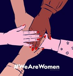Who What Wear has launched the campaign in support of International Women's Day—get the scoop here.How We Can All Stand Together for International Women's Day via Happy Woman Day, Happy Women, Happy International Women's Day, International Womens Day Quotes, Brave Women, Who Runs The World, Feminist Art, Ladies Day, Women Day