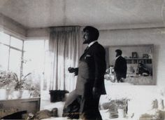 Thelonious Monk at Nica's Cathouse (photo by Pannonica de Koenigswarter) - from the book Three Wishes