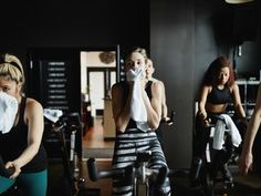 My 8 Favorite Hacks to Take Group Fitness Classes Without Paying Full Price Spin Playlist, Upright Exercise Bike, Upright Bike, Love Fitness, Anytime Fitness, Fitness Plan, Group Fitness Classes, Spinning Workout, Aerobics Workout