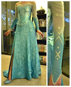 Almost completely done with the bodice. I still have to cover some areas and go in with some smaller sized rectangles. I've also start. thinking about making an Elsa dress purely for the challenge. Elsa Cosplay, Frozen Cosplay, Frozen Costume, Disney Cosplay, Cosplay Dress, Disney Costumes, Cool Costumes, Cosplay Costumes, Elsa Costume Ideas