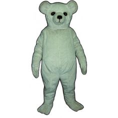 227-Z Snow Bear Mascot Costume - Team-Mascots.  See more bear mascot costumes at:  http://www.team-mascots.com/bear-mascot-costumes/bear-227