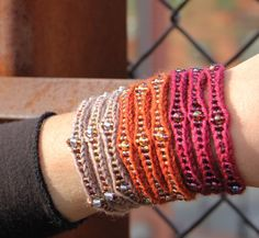 NobleKnits Knitting Blog: Knitted Jewelry - Our Favorite Knitting Trend!