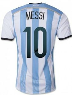 76813e135 Argentina 2014 MESSI Home Blue White Soccer Jersey  89.99  44.99 50%OFF Be  the first to